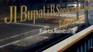 Jalan Pattimura Jombang Berganti Jadi Bupati R Soedirman, Sudah Tahu Belum?