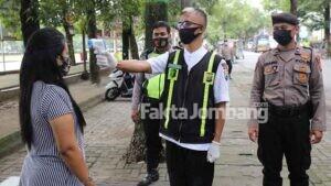 112 Orang Terjaring Operasi Yustisi di Jombang, Data Positif Covid-19 Capai 3.359