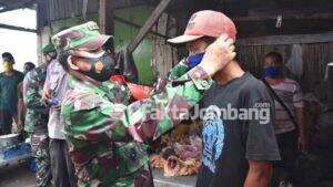 Sidak Prokes di Jombang, Danrem 082/CPYJ Temukan Masih Banyak Pelanggar