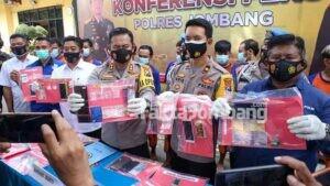 41 Tersangka Narkoba di Jombang Dibekuk, Rata-rata Alasan Ekonomi