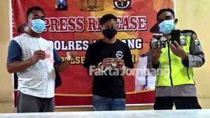 Ciduk Pemuda di Sumbersari Jombang, Polisi Sita 110 Butir Pil Dobel L
