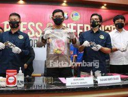 Pengedar Sabu-sabu Bersenjata Api Asal Wonosalam Jombang Diringkus Polda Jatim