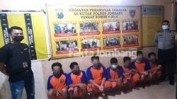 Dipicu Topi Berlogo Perguruan Silat, Belasan Pria Main Keroyok di Kabuh Jombang