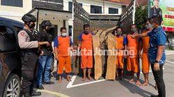 Polisi Bongkar Aksi Pencurian Kayu Jati di Bareng Jombang