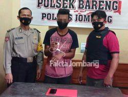 Tiga Pemuda Ditangkap di Bareng Jombang, Satu Tersangka Barusan Beli Sabu Rp 600 Ribu