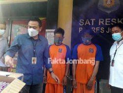 Serbuk Mercon Dijual Lewat Medsos, Pemuda Kediri Ditangkap di Gudo Jombang