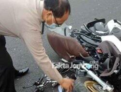 Truk Hantam Sepeda Motor di Balongbesuk Jombang, Satu Nyawa Melayang