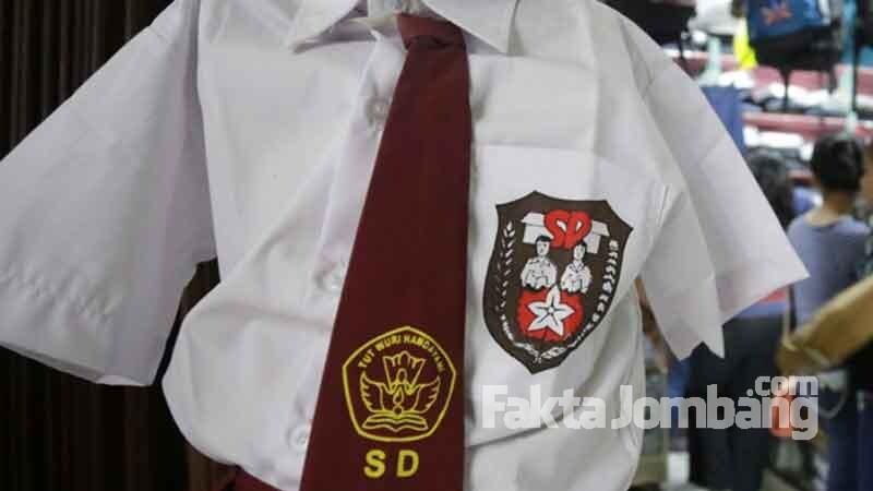 Ilustrasi seragam sekolah