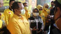 Ketua DPD Golkar Jatim dan Bupati Jombang