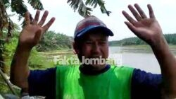 Samsuri saksi mata orang tenggelam di sungai Brantas Tanggungkramat Jombang