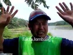 Seorang Pria Dikabarkan Tenggelam di Sungai Brantas Tanggungkramat Jombang