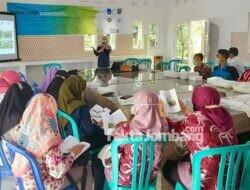 ITS Surabaya Latih Khusus Pemandu Wisata Taman Kehati Wonosalam Jombang