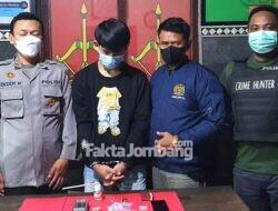 Sebab Sabu-sabu, Dua Pria Ditangkap Polsek Mojowarno Jombang
