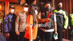 Kasat Resnarkoba Polres Jombang patroli yustisi