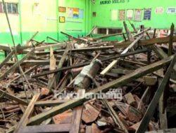 Atap Ruang Kelas SDN Catakgayam 1 Ambruk, Ini Kata Kadisdikbud Jombang