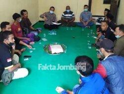 Jalin Silaturrahmi, Sejumlah Perguruan Silat Dikumpulkan Polsek Plandaan Jombang